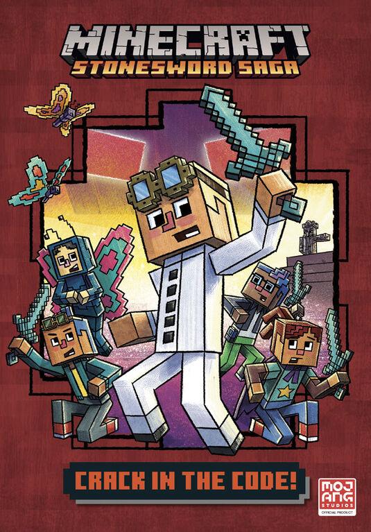Crack in the Code! (Minecraft Stonesword Saga #1) - Édition anglaise