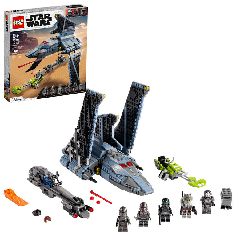 LEGO Star Wars TM La navette d'attaque du Bad Batch 75314