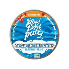 Nickelodeon Liquid Lava Putty Glow In The Dark Blaring Blue - R Exclusive