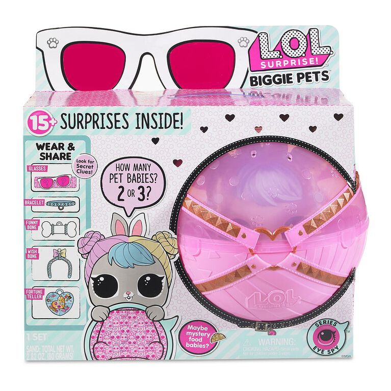 L.O.L. Surprise Biggie Pet- Hop Hop.