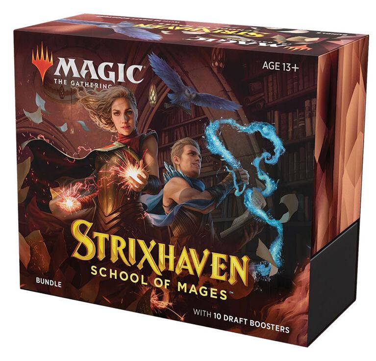 """Bundle """"Strixhaven: l'Académie des Mages"""" de Magic Le Rassemblement - Édition anglaise"""