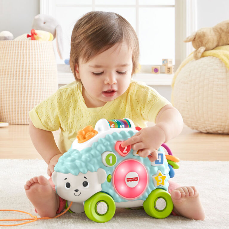 Fisher-Price Linkimals Happy Shapes Hedgehog - English Edition
