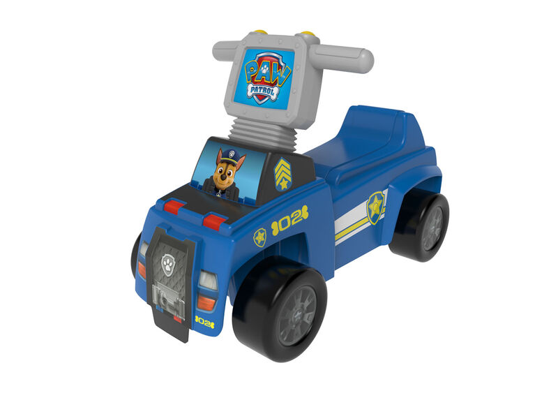 Paw Patrol Chase Push N Scoot - English Edition