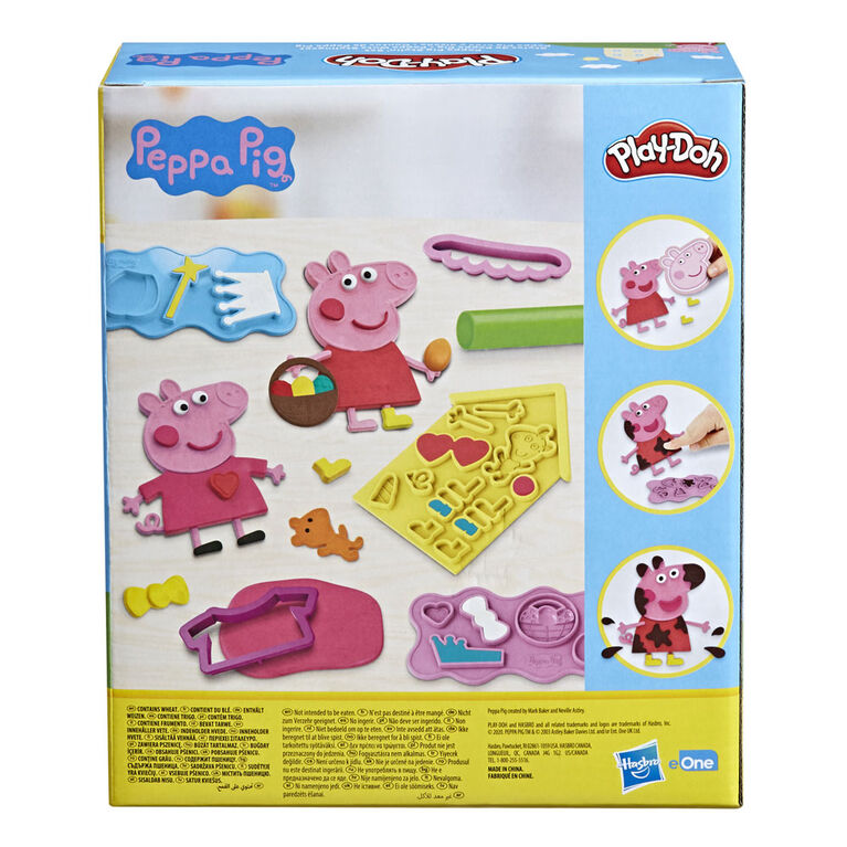 Play-Doh, Styles de Peppa Pig