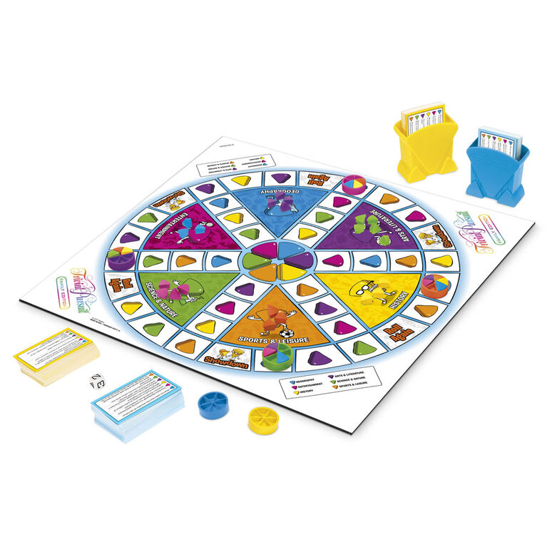 Hasbro Gaming - Trivial Pursuit Family Edition game