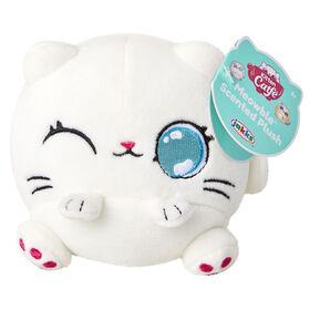 Peluche parfumée Chaton Mefeble Catfe - Persan blanc
