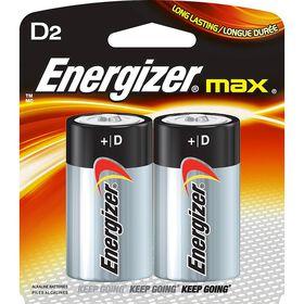 Energizer Max -  Paquet 2 piles D