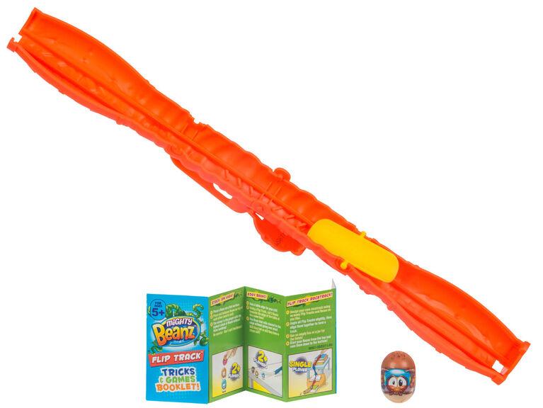 Mighty Beanz Flip Track - Orange