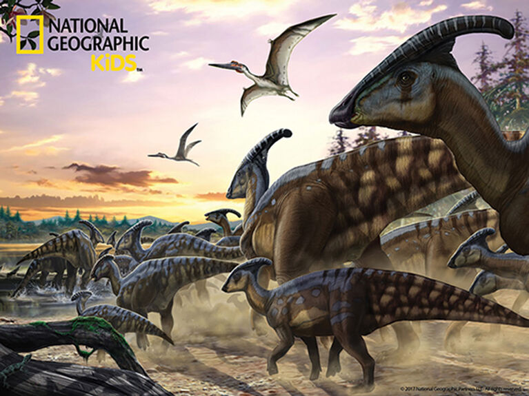 National Geographic - Dinosaurs 63-100 pcs Puzzles