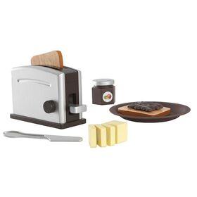 KidKraft -  Espresso Toaster Set