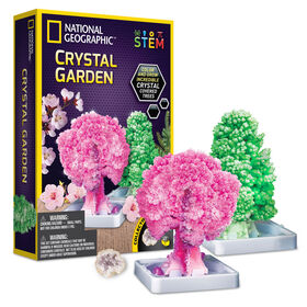 National Geographic Crystal Garden Grow Kit