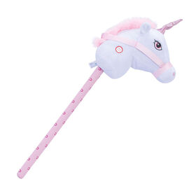 Pitter Patter Pets Giddy Up Hobby Horse White Unicorn