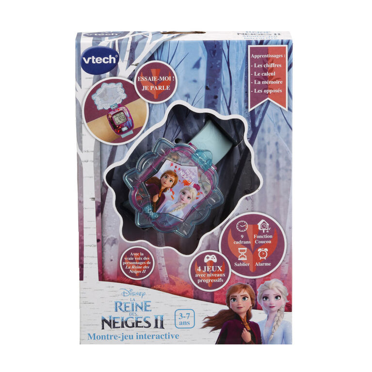 VTech® Frozen II Magic Learning Watch - French Edition