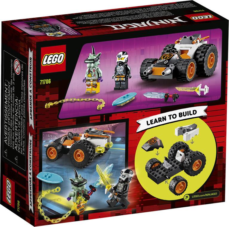 LEGO Ninjago Le bolide de Cole 71706