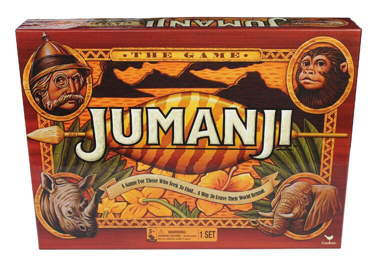Jumanji - Jeu de société rétro classique des années 90 - Édition anglaise