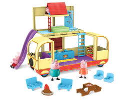 Camping-car transformant de Peppa Pig - Édition anglaise