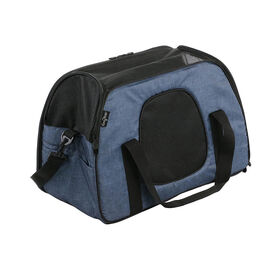 Gen7Pets Carry-Me Sleeper Pet Carrier & Portable Bed - Heather Navy