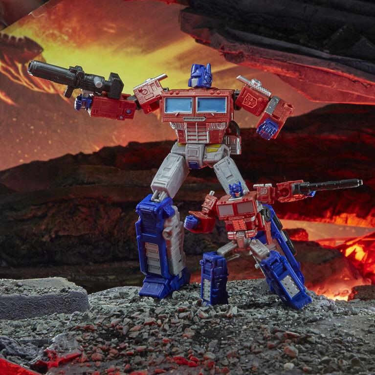 Transformers WFC-K1 Optimus Prime Action Figure