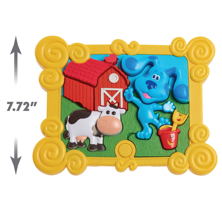 Blue's Clues & You! Puzzle Blue A Construire Parlant 3D à 9 Eléments