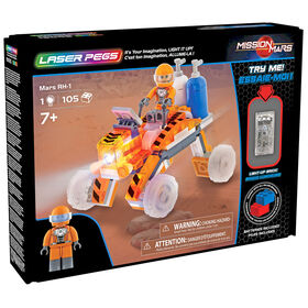 Laser Pegs Mission Mars Collection - Mars RH-1