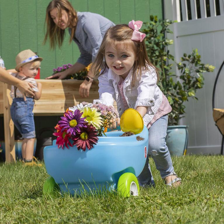 Step2 - Brouette Springtime Wheelbarrow