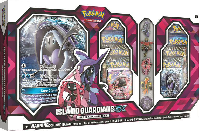 "Pokémon - Island Guardians GX Premium Pin Collection - Toys""R""Us Exclusive - R Exclusive"