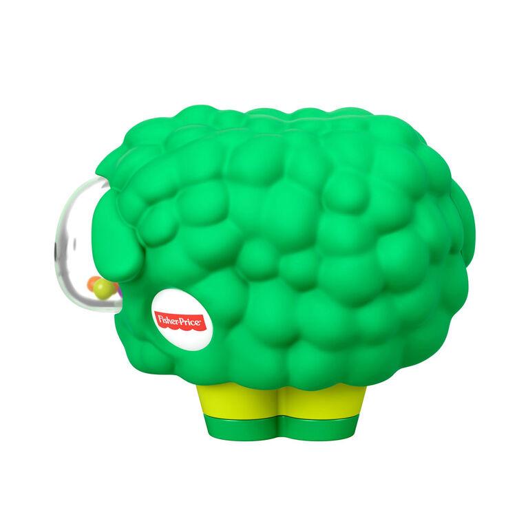 Fisher-Price Broccoli Squeaker Sheep - English Edition
