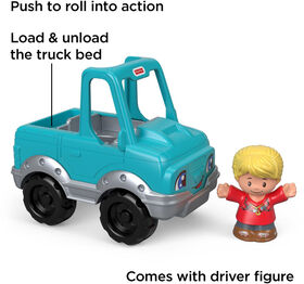 Fisher -Price Little People Help A Friend Pick Up Truck