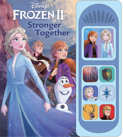 Frozen II Little Sound Book - English Edition