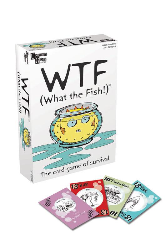 Jeu de cartes WTF (What the Fish) - Édition anglaise