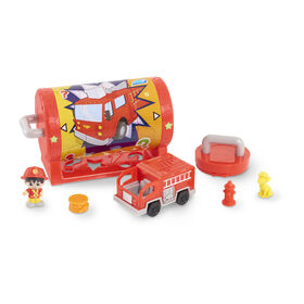 Ryan's Mystery Playdate Picture Puzzle Box, Firefighter Ryan - English Edition