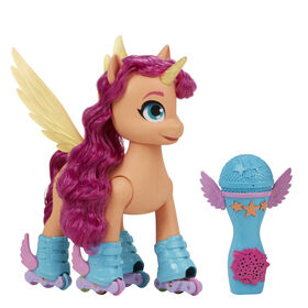 My Little Pony: A New Generation Movie Sing 'N Skate Sunny Starscout - English Edition