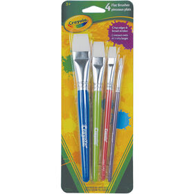 Flat Brush Set - 4 count