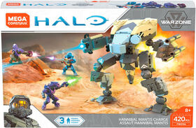 Mega Construx Halo Hannibal Mantis Charge Playset