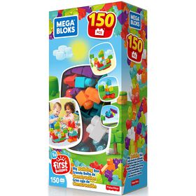 Mega Bloks Big Building Box - 150 Pieces