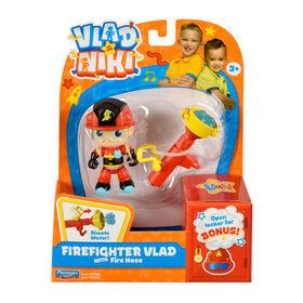 Vlad and Niki - Firefighter Vlad Figure Set (with Firehose)