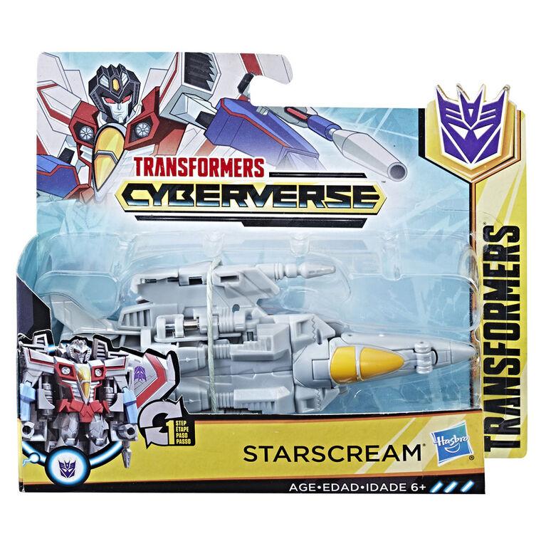 Transformers Cyberverse 1 - Step Changer Starscream