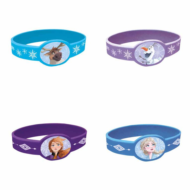 Frozen Stretchy Bracelets, 4 pieces