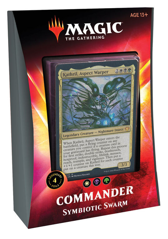 "Magic the Gathering ""Ikoria - Lair of the Behemoths"" Commander Deck - Sympiotic Swarm"
