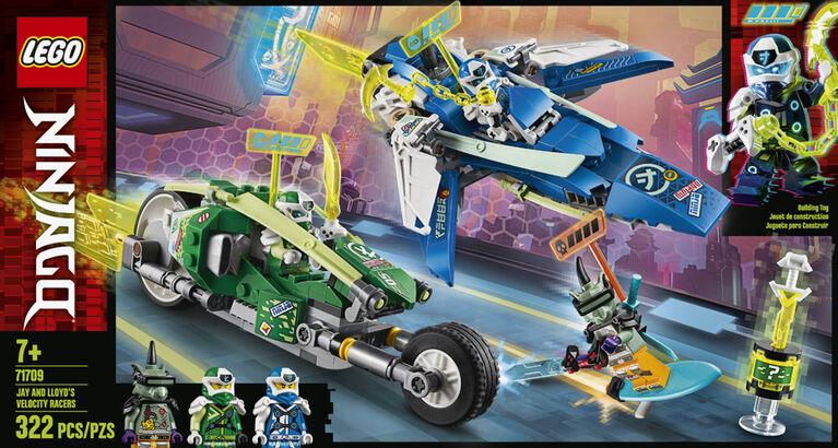 LEGO Ninjago Les bolides de Jay et Lloyd 71709