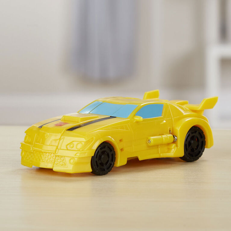 Transformers Cyberverse Action Attackers: 1-Step Changer Bumblebee Action Figure