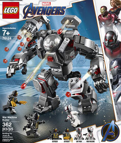 LEGO Super Heroes Marvel L'armure de War Machine 76124