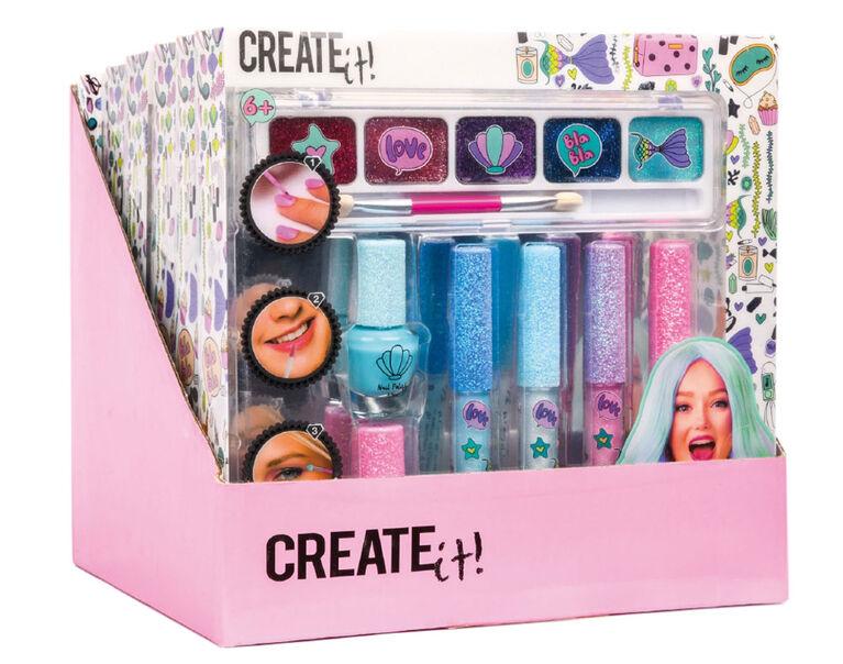 CREATE IT! Ens. De Maquillage De Sirène Brillants 7Pcs
