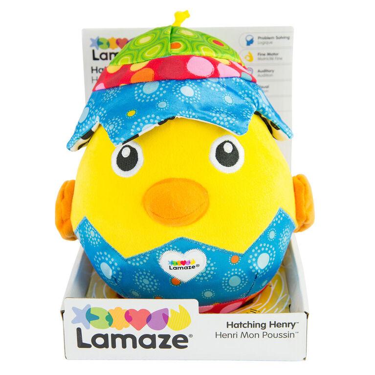 Lamaze Hatching Henry Peek A Boo Play