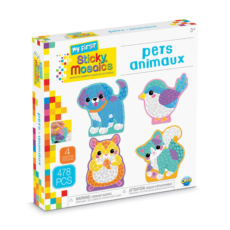 My First Sticky Mosaics Pets - R Exclusive