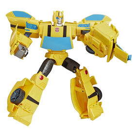 Transformers Cyberverse Action Attackers - Figurine Bumblebee de classe ultime.