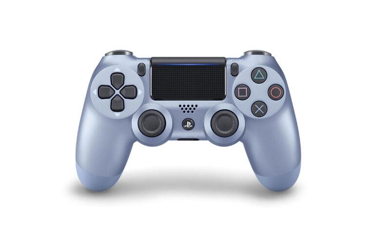 PlayStation 4 DualShock 4 Titanium Blue.