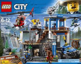 LEGO City Police Mountain Police Headquarters 60174