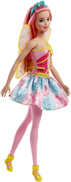 Barbie Dreamtopia Fairy Doll - Pink