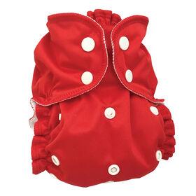 AppleCheeks Diaper Covers One-Size Cherry Tomato